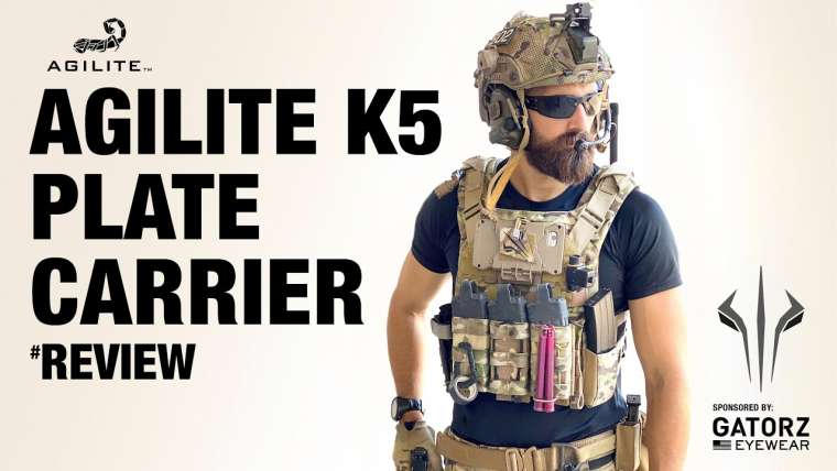 Avis AGILITE K5 [ The Most Comfortable Plate Carrier in the World ?]