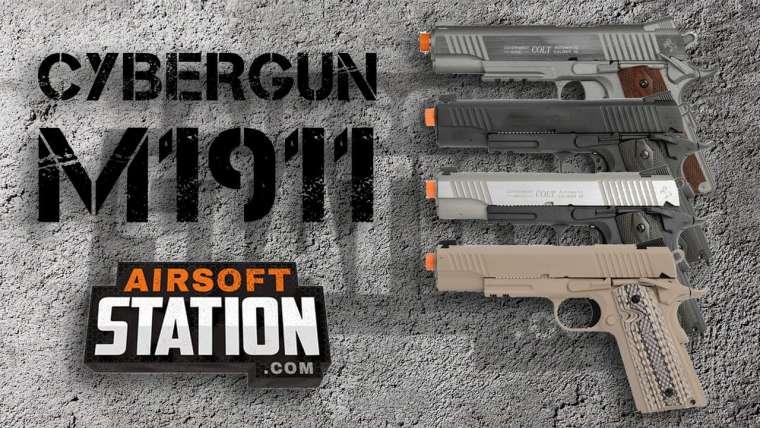 Présentation de Cybergun Colt 1911 – Airsoft Station