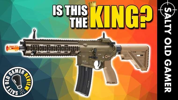 Est-ce le ROI?  HK 416 A5 Airsoft AEG    Critique de SaltyOldGamer Airsoft