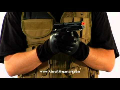 Airsoft Megastore – Examen des pistolets à gaz entièrement métalliques Sig Sauer P226 et P229