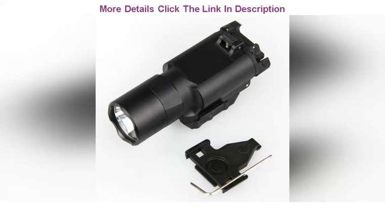 Donner votre avis sur les accessoires tactiques airsoft X300 Ultra LED arme lumière lampe de poche lumière blanche fit pistolet A