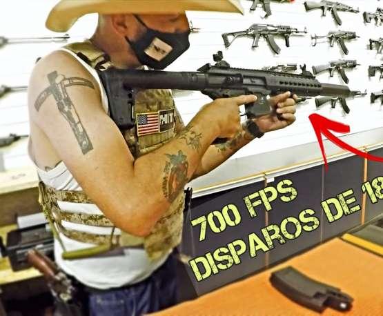 700 FPS ET TIRER 180 MTS!  |  LE NOUVEAU MAGASIN DE HIT AIRSOFT |  FBAIRSOFT