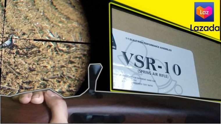 Mon premier Airsoft – VSR 10 Dbell Unboxing et examen    Galing Lazada    Pas cher mais ça vaut le coup?