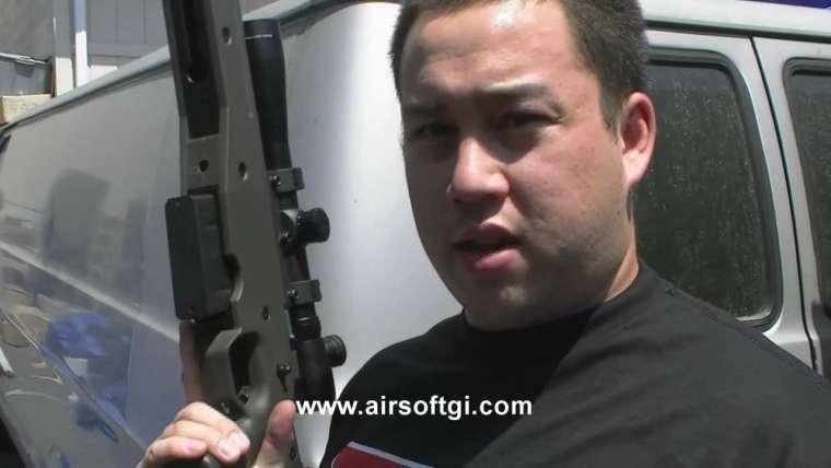Airsoft GI – Fusil de précision à gaz Ares AW338