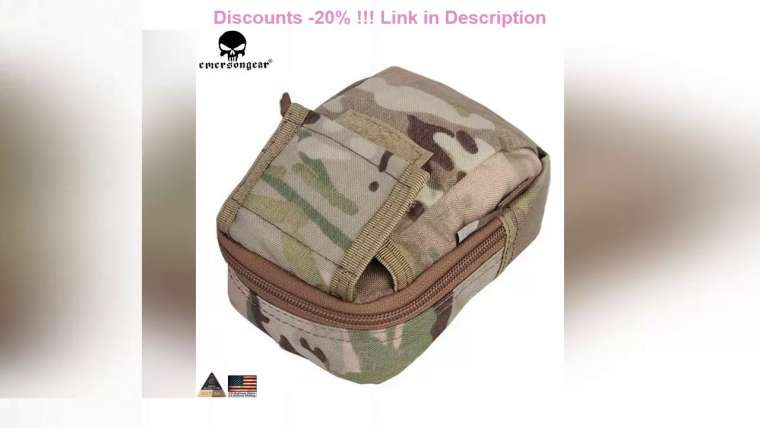 Évaluer Top EMERSONGEAR Detective Waist Bag Molle Pouch Militaire Airsoft Paintball Combat Gear Small