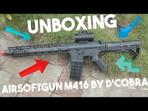 M416 Airsoftgun |  Déballage et examen
