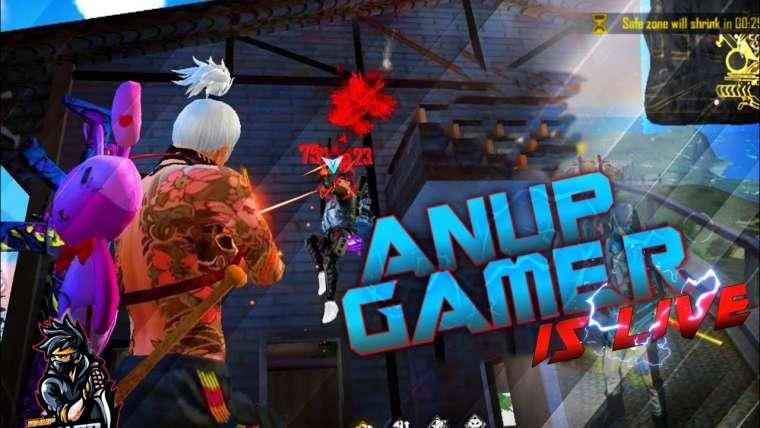 Gameplay Fire Live gratuit avec abonné     Free fire live masti complet