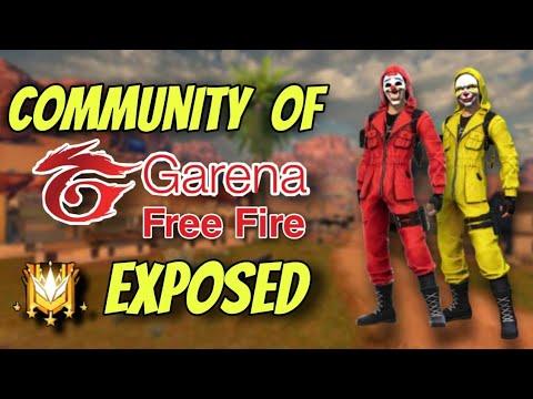 Communauté de jeu Free Fire Expose ||  TITAN SCAR Giveaway ||  Faux cadeau