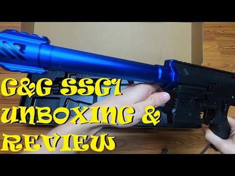 G&G SSG1 Unboxing et examen