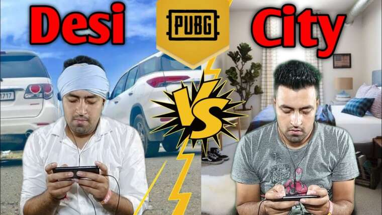 PUBG: Desi vs joueurs de la ville ||  PUBG dans la vraie vie ||  Vidéo drôle ||  Hommage à PUBG ||  Monsieur DraG