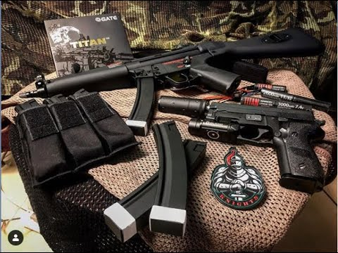 Équipe Knights Airsoft – Unboxing & Review GyG MP5