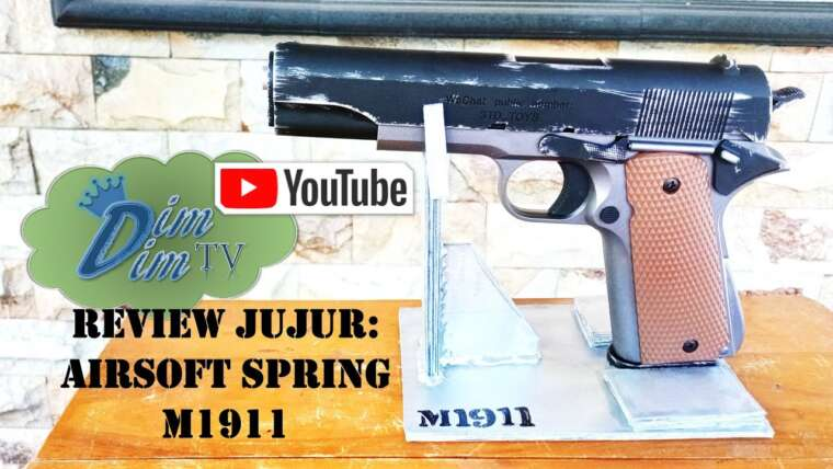 Évaluer Jujur: M1911 Handgun Airsoft Watergel Spring Powered