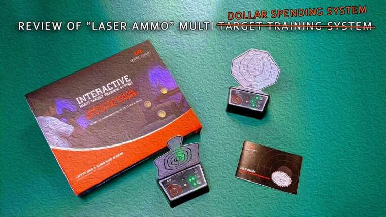 Examen: Système de cible LaserAmmo