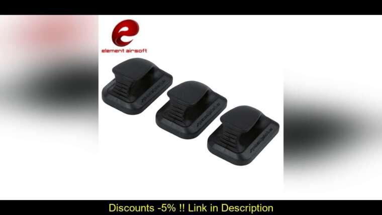 Évaluer Element Airsoft Pistol Magazine Support Speedplate KSC GLOCK G17 Speed Plate Hunting Softair