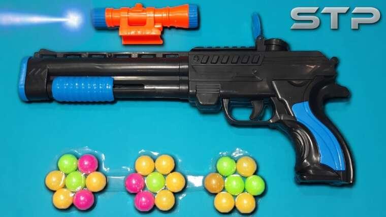 SUPER SHOOTING balle balle fusil de chasse pistolet jouet
