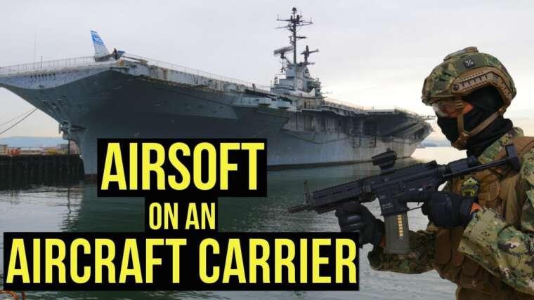 Airsoft sur un porte-avions    Milsim Maritime Operation High Tide (HK 416C avec Acetech Tracer)