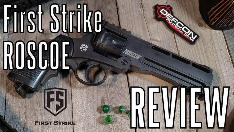 REVUE – Revolver de Paintball Roscoe First Strike