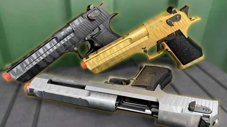 DESERT EAGLE AIRSOFT    COMME MAIS BRABAS!  💥 (Armurier Works   Cyber Gun)