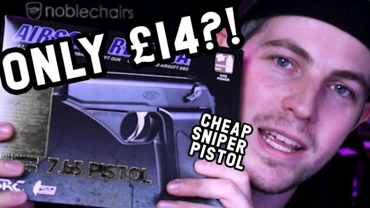 Le pistolet de sniper airsoft le moins cher que vous puissiez obtenir