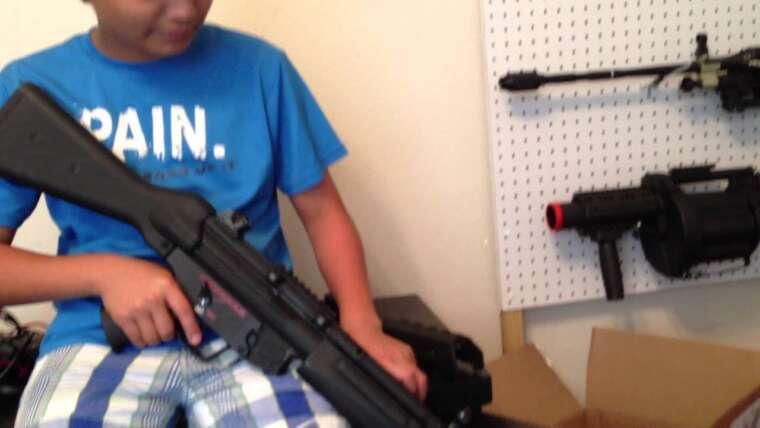 pistolets airsoft en vente à partir du 7 juin 2013-je ferai une autre vidéo des armes que je vendrai