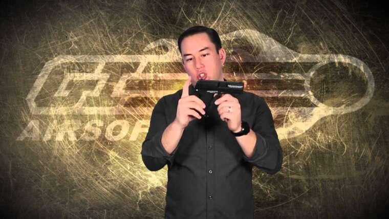 Airsoft GI – Pistolet à gaz compact H&K USP OEM par KWA