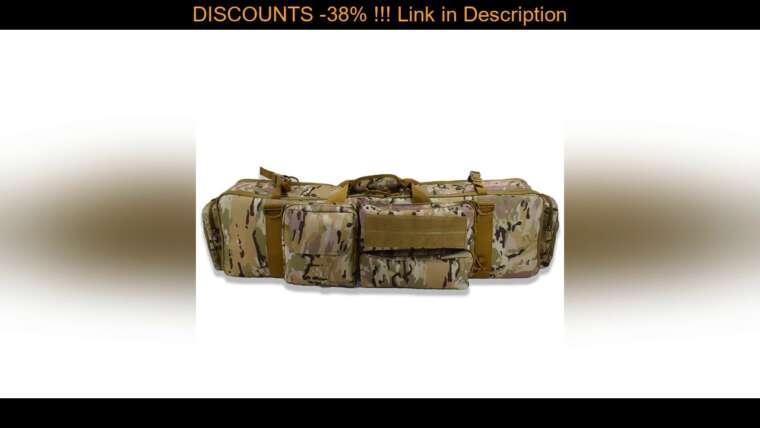 Évaluer Équipement tactique Airsoft Tir Chasse Sac de fusil Sac de transport pour pistolet Étui de protection extérieur