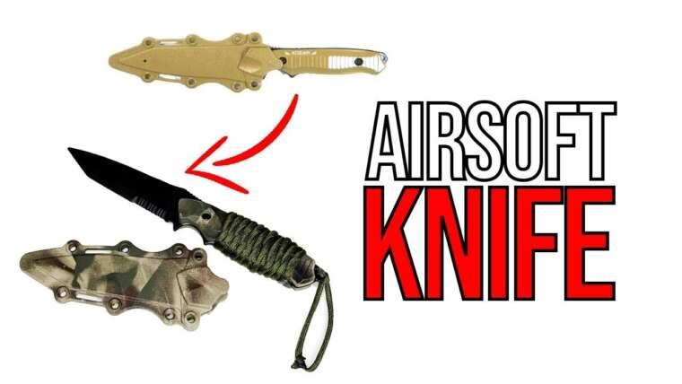 DIY Airsoft |  Comment faire un couteau Airsoft personnalisé