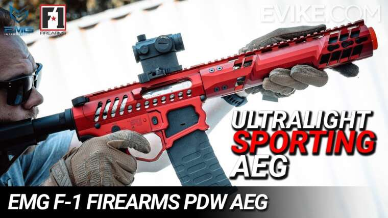 L'Ultralight Sporting AEG – Armes à feu EMG F-1 PDW AEG – Critique