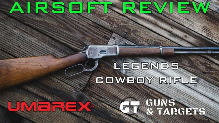 Airsoft Review # 22 Legends CowBoy Rifle Co2 6mm LEGENDS / UMAREX (PISTOLETS ET CIBLES)