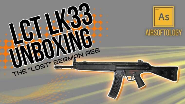 """De l'Allemagne """"Fusil perdu"""" – Déballage de l'Airsoft LCT LK33"""