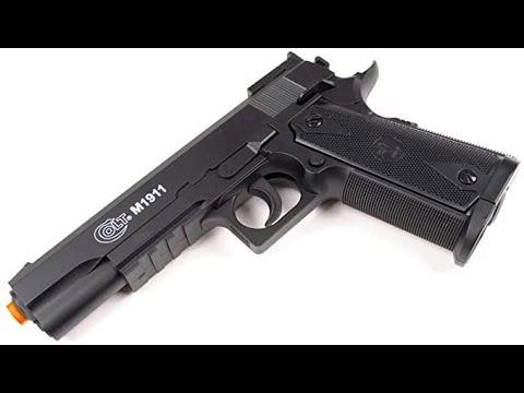 Revue honnête du pistolet Airsoft CO2 Colt Special Combat 1911
