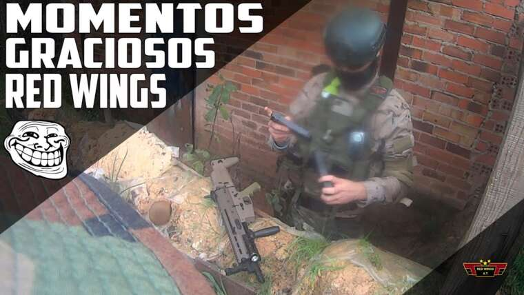 Moments drôles |  Airsoft ailes rouges