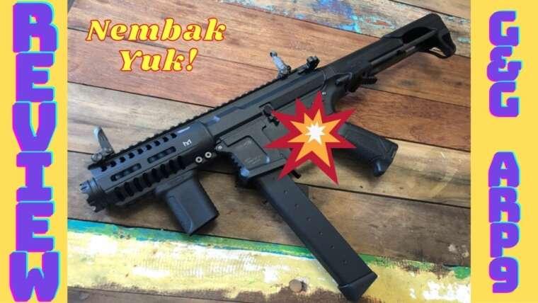 Unité AEG Mesin Jait!  1500 BB!  Évaluer G&G Armament ARP9