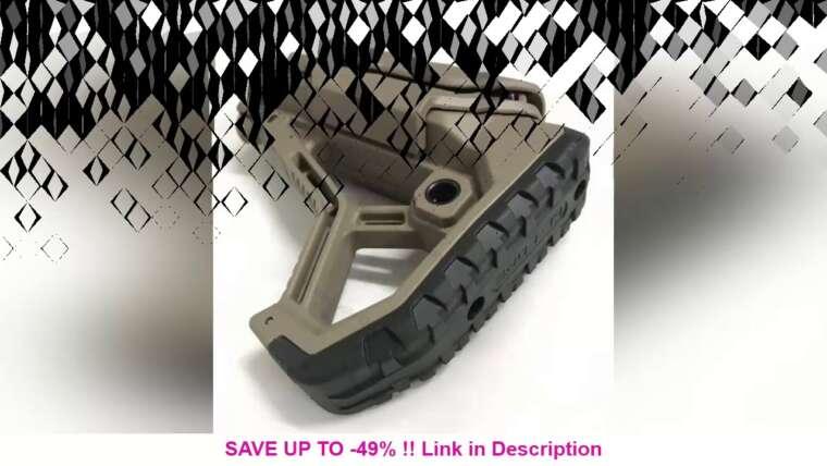 Évaluer Stock en nylon Style GL-CORE pour Gel Blaster Paintball Airsoft Air Guns Accessoires AEG Gen9 Ge