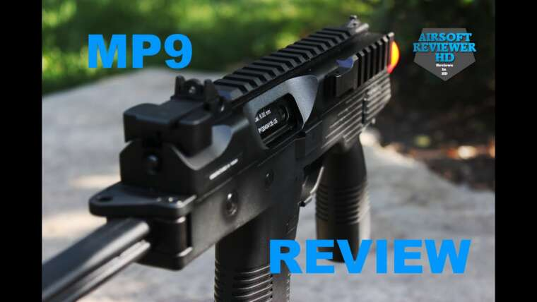 KWA BLOW-BACK MP9 Airsoft Review !!