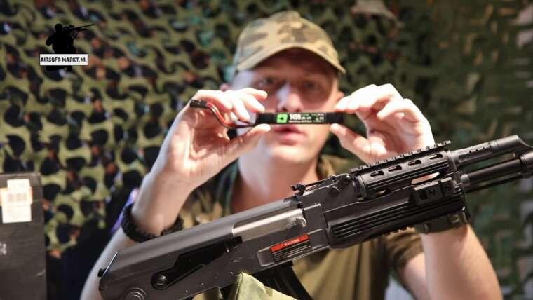 Cyma CM.028-B AK47 Tactical Airsoft EXAMEN COMPLET (sous-titres anglais)