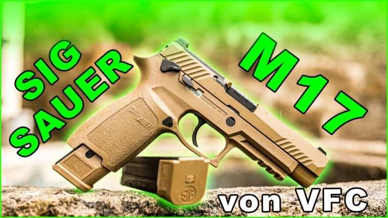 VFC SIG Sauer M17 – Réplique GBB de la nouvelle arme de service de l'armée américaine à l'étude