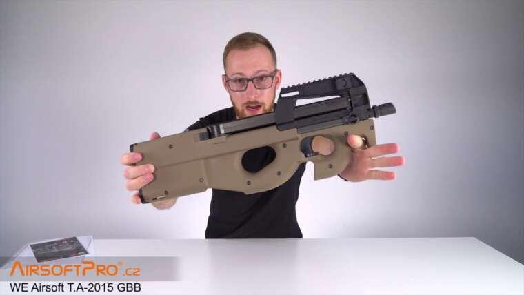 Unboxing WE TA-2015 (P90) GBB réplique airsoft