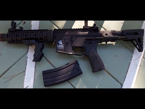 Revue du fusil électrique Li-Po AirSoft Lancer Tactical LT15 Gen 2 M4
