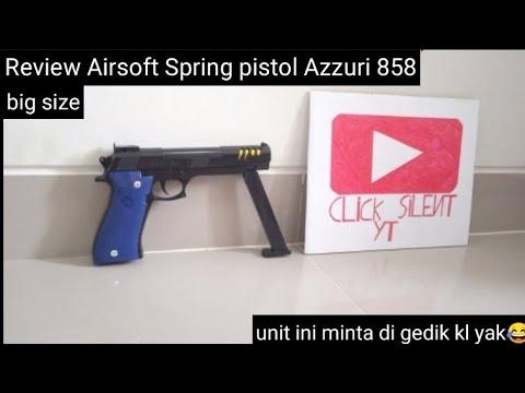 Évaluer Airsoft Spirng Pistol Azzuri
