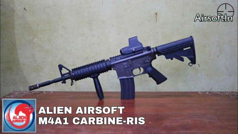 """Évaluer Alien Airsoft Colt M4A1 CARBINE-RIS – """"AEG Million de personnes""""    Airsoft Gun Indonésie"""