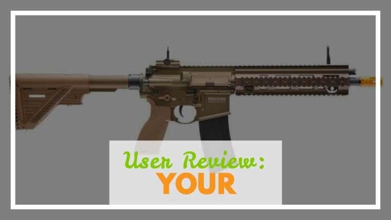 Avis d'utilisateurs: Elite Force Heckler & Koch Airsoft Rifle 416 A5 6Mm Tan, Multi, One Size (2262069)