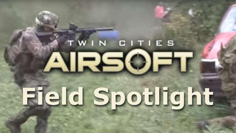 Twin Cities Airsoft (TCA) – Projecteur sur le terrain – Séquence de gameplay Airsoft