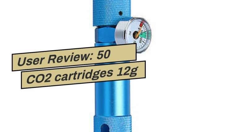 Avis utilisateur: 50 cartouches de CO2 12g NON FILETÉ C02 paintball ou pistolet airsoft
