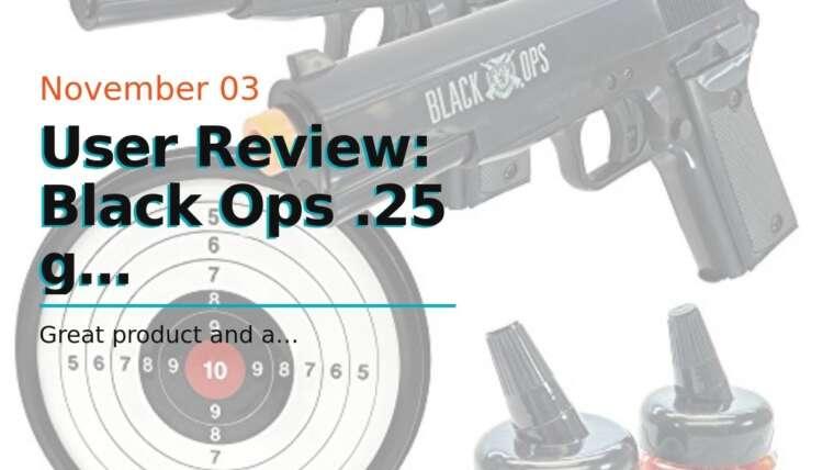 Avis d'utilisateur: BBs Airsoft biodégradables Black Ops .25 g – 10000 Triple Polished Competition Gra …