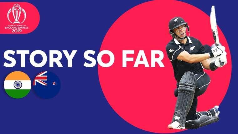Inde vs Nouvelle-Zélande – L'histoire jusqu'ici |  Coupe du monde de cricket ICC 2019
