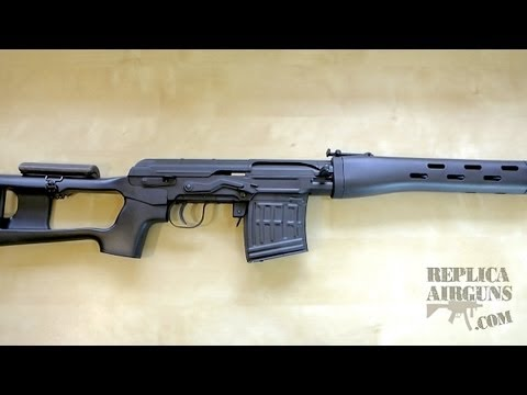 B&W Dragunova SVD Airsoft Sniper Rifle Table Top Review