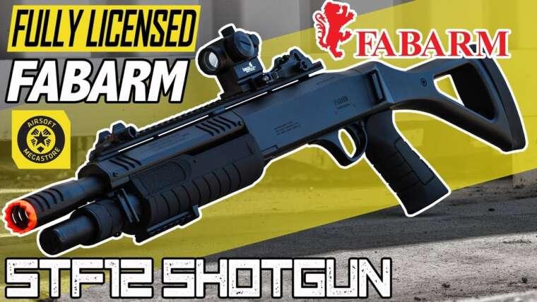 Trois BB à la fois!  |  FABARM Fusil à pompe STF12 |  Revue complète Airsoft Megastore
