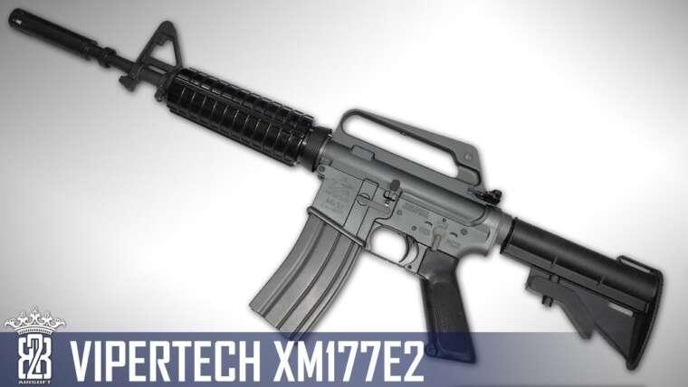 ViperTech MKX2 Colt XM177E2 Airsoft GBB Vietnam CAR-15 Commando Review