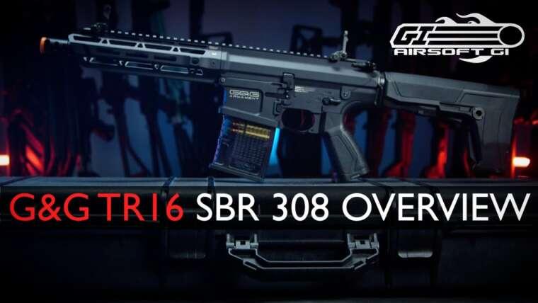 POURQUOI FAIRE CE SHORT?!  – Série G&G TR16 .308 SBR |  Airsoft GI